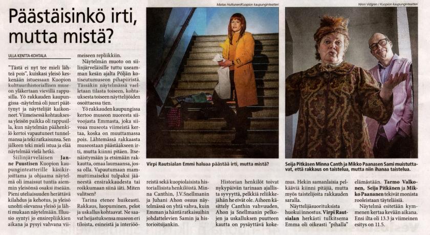 Ulla Kentta-Kohtala / Uutis-Jousi 17.3.2013