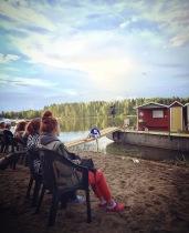 Kenraaliharjoitus Siilinlahden rannassa 13.7.2016. Kuva: Janne Puustinen.