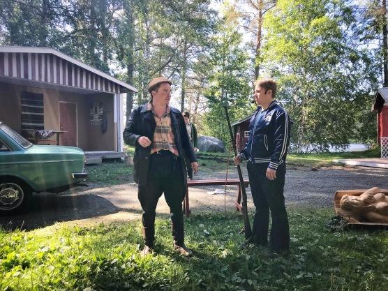 Simpauttaja (Antti Heikkinen) ja Imppa (Ville-Markus Laitinen).